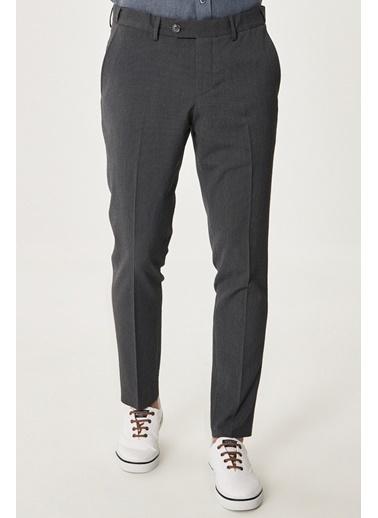 Altınyıldız Classics Slim Fit Dar Kesim Yan Cep Casual Pantolon 4A0121200021 Antrasit